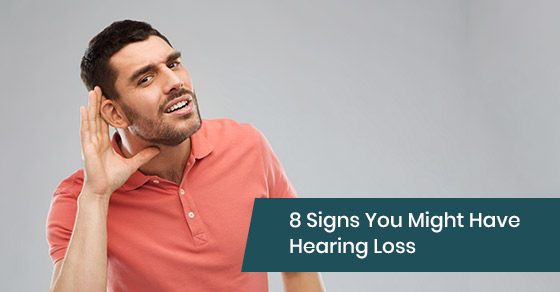 Different signs of having hearing loss