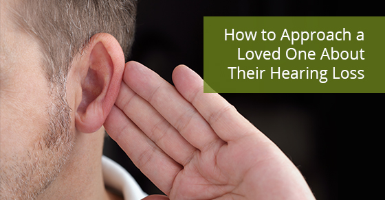 How to approach someone with a hearing problem?